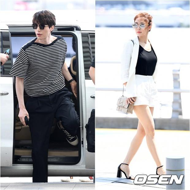 Có ai như Lee Dong Wook và Yoo In Na: Tình cờ gặp gỡ và biến sân bay thành sàn catwalk - Ảnh 2.