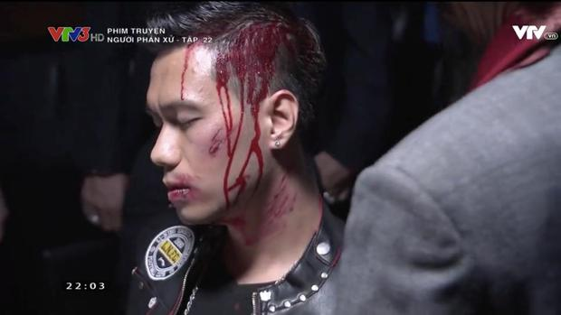 """""""Người phán xử"""" tập 22: Làm trùm chưa lâu, Phan Hải đã ôm đầu bê bết máu - Ảnh 2."""