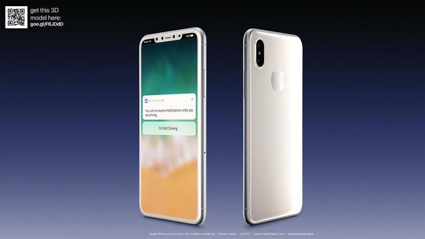 Tận mắt ngắm iPhone 8 màu đen và màu trắng đẹp rụng rời, bạn thích chiếc nào hơn? - Ảnh 2.