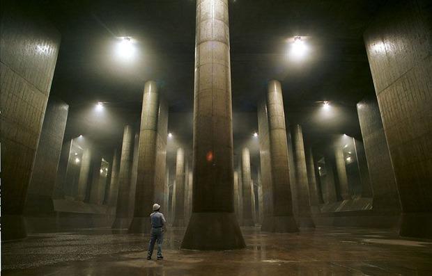 Điện thờ Pantheon dưới lòng đất Tokyo: Hệ thống thoát nước vĩ đại mang niềm tự hào của Nhật Bản - Ảnh 1.