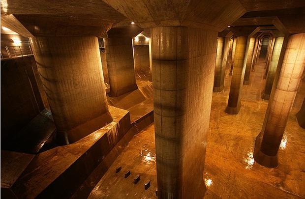Điện thờ Pantheon dưới lòng đất Tokyo: Hệ thống thoát nước vĩ đại mang niềm tự hào của Nhật Bản - Ảnh 10.