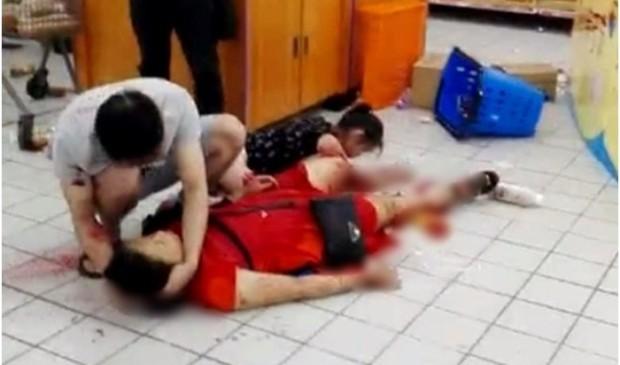 Thanh niên giết người dã man trong siêu thị ở TQ - Ảnh 1.