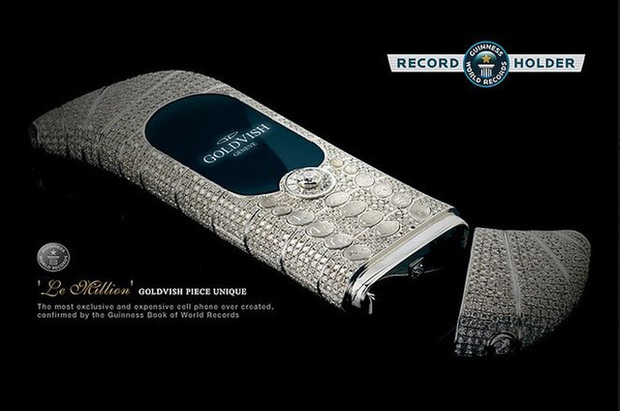 Không phải Vertu, đây mới là dòng điện thoại đắt đỏ bậc nhất thế giới được Guinness công nhận: Đến đại gia cũng phải săn đón - Ảnh 1.