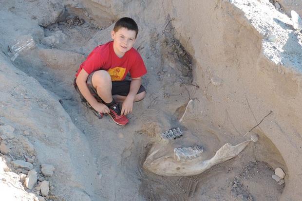 Bé trai 9 tuổi tưởng mình vấp phải đá nhưng không ngờ lại là báu vật vô giá - Ảnh 1.