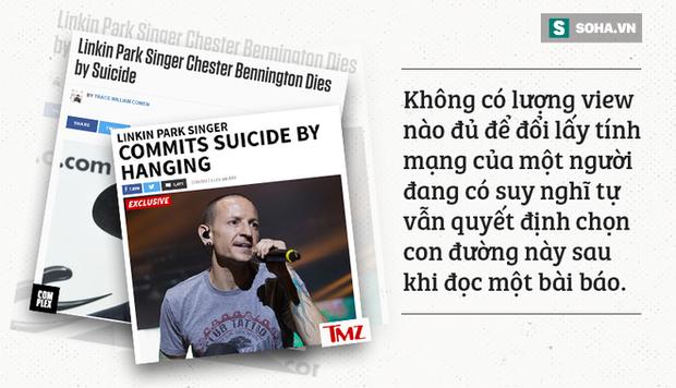 Bài học cho báo chí sau cái chết của thủ lĩnh Linkin Park: Không có lượng view nào đủ để đổi lấy tính mạng con người - Ảnh 3.