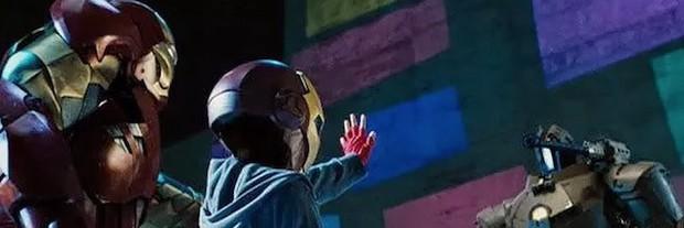 Tom Holland xác nhận giả thuyết Peter Parker đã xuất hiện trong Iron Man 2 - Ảnh 1.