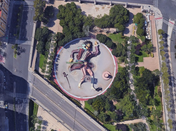 10 hình ảnh lạ lùng nhất có thể tìm thấy ngay trên Google Maps - Ảnh 9.