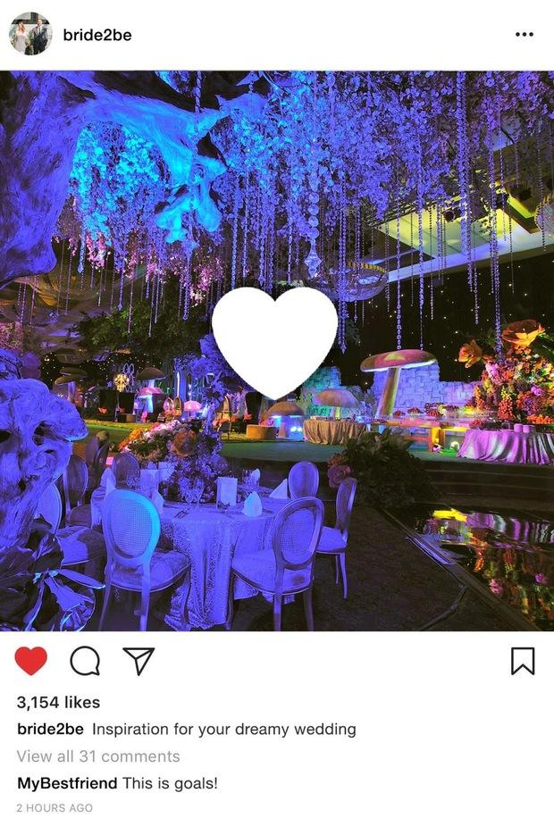 Indonesia: Các cặp đôi đua nhau chi khủng để có những đám cưới xa hoa ngất trời khoe trên Instagram - Ảnh 2.