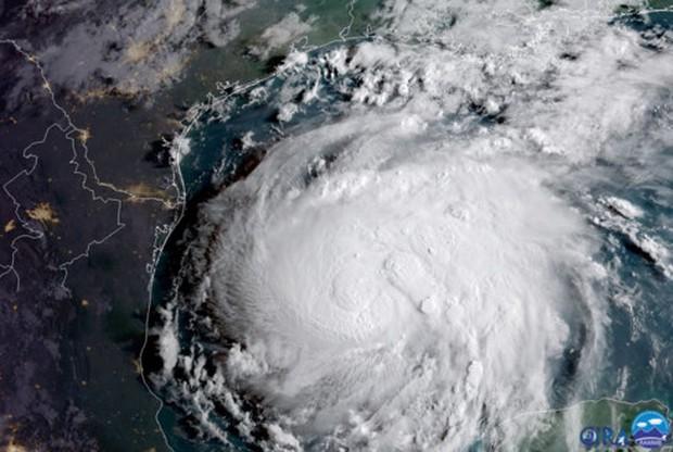 Siêu bão Harvey có thể gây thảm họa cho bang Texas, Mỹ - Ảnh 1.