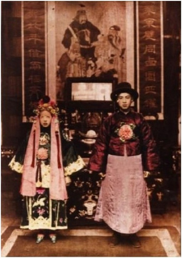 Minh hôn - đám cưới cách biệt âm dương ghê rợn ở Trung Quốc - Ảnh 1.
