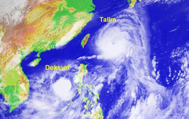 Trung Quốc lo lắng trước siêu bão kép Talim và Doksuri mạnh chưa từng có - Ảnh 1.