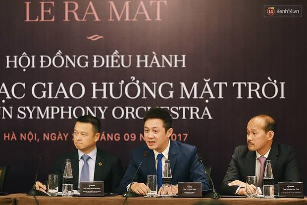MC Anh Tuấn làm Giám đốc điều hành Dàn nhạc giao hưởng ở Hà Nội - Ảnh 6.
