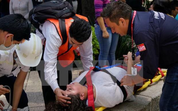 Động đất mạnh tại Mexico: Tổng thống Nieto tuyên bố quốc tang 3 ngày - Ảnh 1.