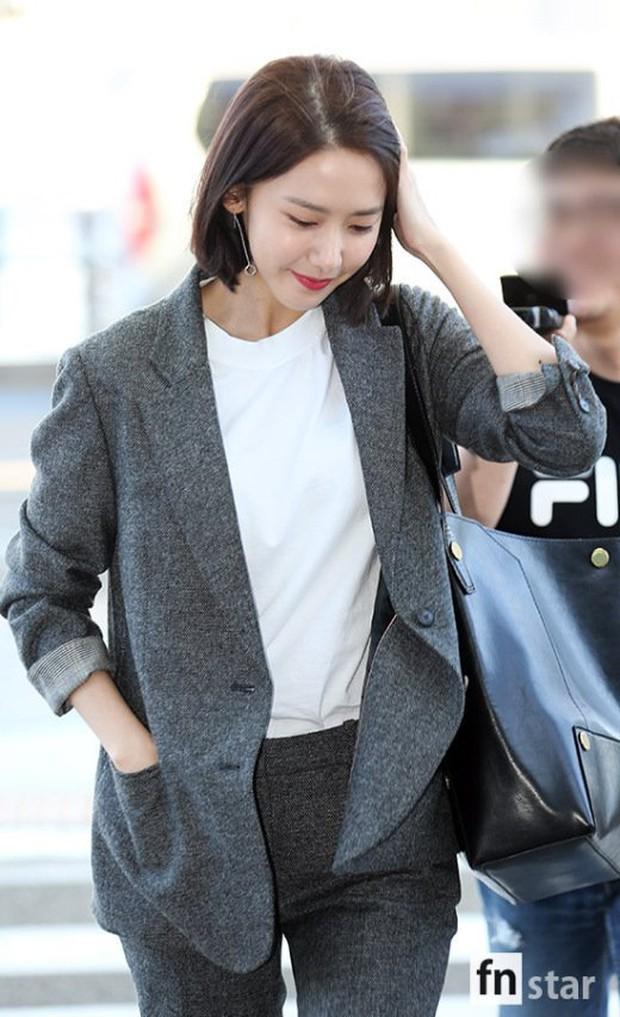 Có ai như Yoona và Lee Dong Wook, đi sân bay thôi cũng lung linh chẳng kém chụp hình tạp chí - Ảnh 3.