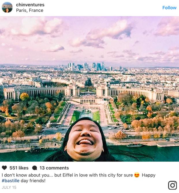 Cằm 2 ngấn đi khắp thế giới: Bộ ảnh du lịch độc đáo của cô nàng mập mà vẫn tấp nập người theo dõi - Ảnh 1.