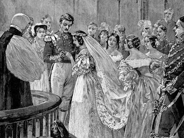 Không nhờ người phụ nữ này, các cô dâu ngày nay có lẽ sẽ không bao giờ mặc váy cưới màu trắng - Ảnh 1.