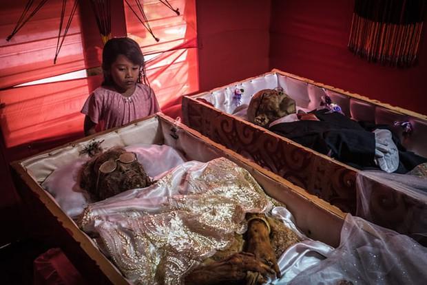 Ăn chung mâm, ngủ chung nhà với thi thể suốt cả năm trời: Những tập tục rùng rợn nhất ở Indonesia - Ảnh 1.