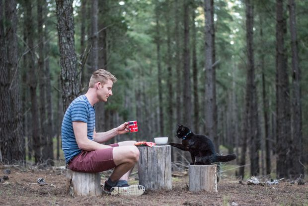 Bán nhà cửa rồi bỏ việc, chàng trai trẻ dắt mèo cưng đi du lịch vòng quanh đất nước suốt 2,5 năm - Ảnh 2.