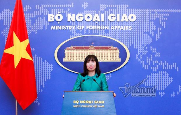 Điều chưa biết về nữ phát ngôn viên Bộ Ngoại giao - Ảnh 3.