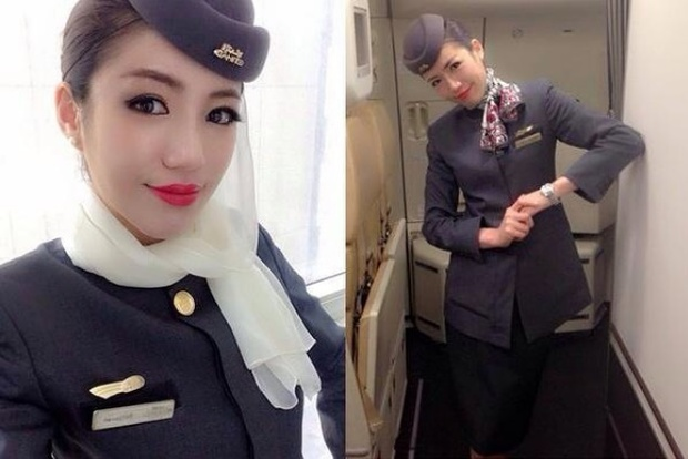 Nữ tiếp viên hàng không xinh như minh tinh lại nhiều tài lẻ khiến dân tình thích thú - Ảnh 1.