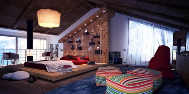 14 mẫu phòng ngủ rộng rãi dành cho người yêu kiến trúc - Ảnh 3.