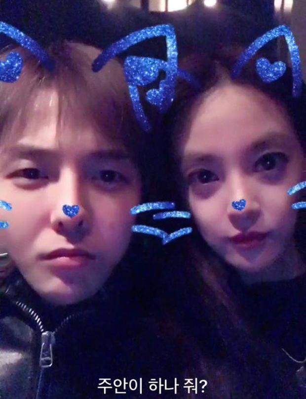 G-Dragon và cựu thành viên After School - Joo Yeon đang hẹn hò? - Ảnh 1.