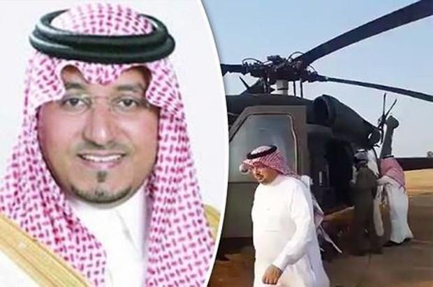 Hoàng tử Saudi Arabia tử nạn trong vụ rơi máy bay trực thăng - Ảnh 1.
