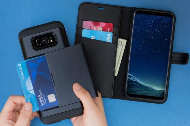 Samsung đăng ký bằng sáng chế loại phụ kiện mang tính cách mạng cho Galaxy S9 - Ảnh 1.