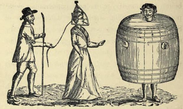 Những hình phạt tàn nhẫn dành riêng cho phụ nữ ở thời Trung Cổ khiến nhiều người run sợ - Ảnh 6.