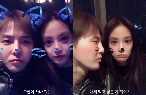 Nhan sắc bạn gái tin đồn của G-Dragon: Từ mỹ nhân gợi cảm tuột dốc thành bộ xương di động - Ảnh 2.
