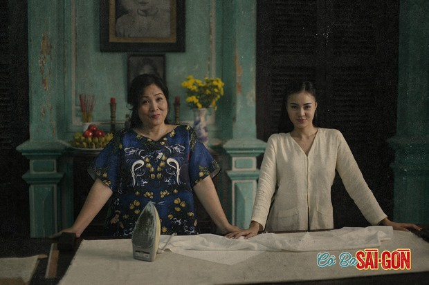 Học may áo dài theo bí kíp như cao thủ võ lâm trong Cô Ba Sài Gòn - Ảnh 4.