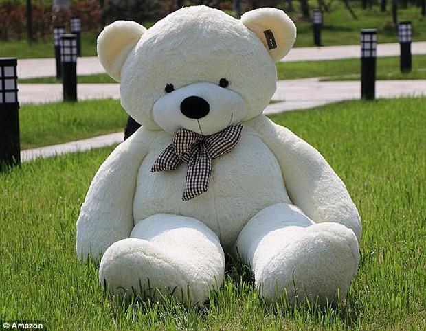 Bi hài chuyện mua hàng online: Đặt mua gấu bông khổng lồ cao 2m, nhận về gấu gầy đét, chân dài 98cm - Ảnh 1.