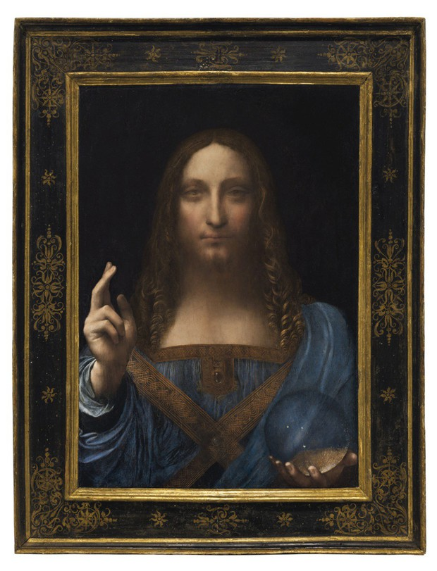 Bức tranh Đấng Cứu Thế của Leonardo da Vinci được bán với giá 450 triệu USD, trở thành tác phẩm đắt nhất mọi thời đại - Ảnh 1.
