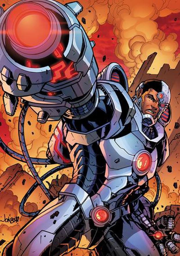 Justice League đã sử dụng tiểu sử của Cyborg như thế nào? - Ảnh 2.