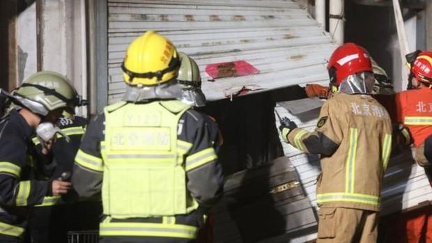 Cháy lớn ở Bắc Kinh, Trung Quốc khiến 19 người thiệt mạng - Ảnh 2.