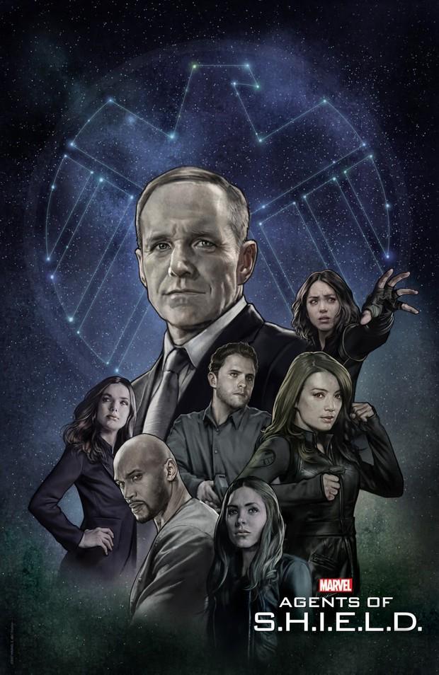 Agents of S.H.I.E.L.D. trở lại cùng mùa 5, mang khán giả tới tương lai - Ảnh 1.