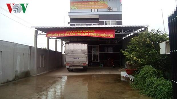 Bến Tre: Miễn phí nhà nghỉ cho người dân tránh bão Tembin - Ảnh 1.