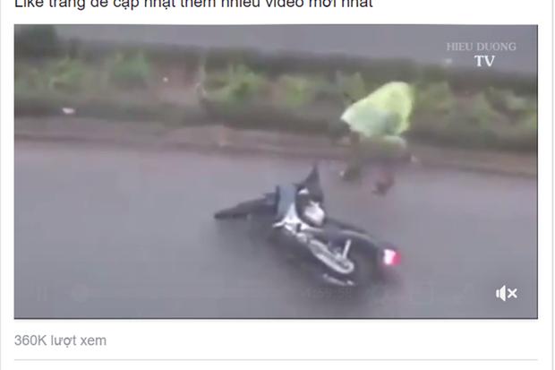 Giả livestream bão Tembin để câu like, có thể bị phạt 30 triệu đồng - Ảnh 1.