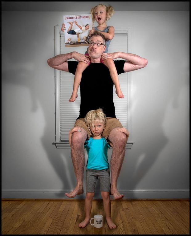 Cười nghiêng ngả trước 24 ảnh về ông bố yêu con nhất quả đất - Ảnh 11.