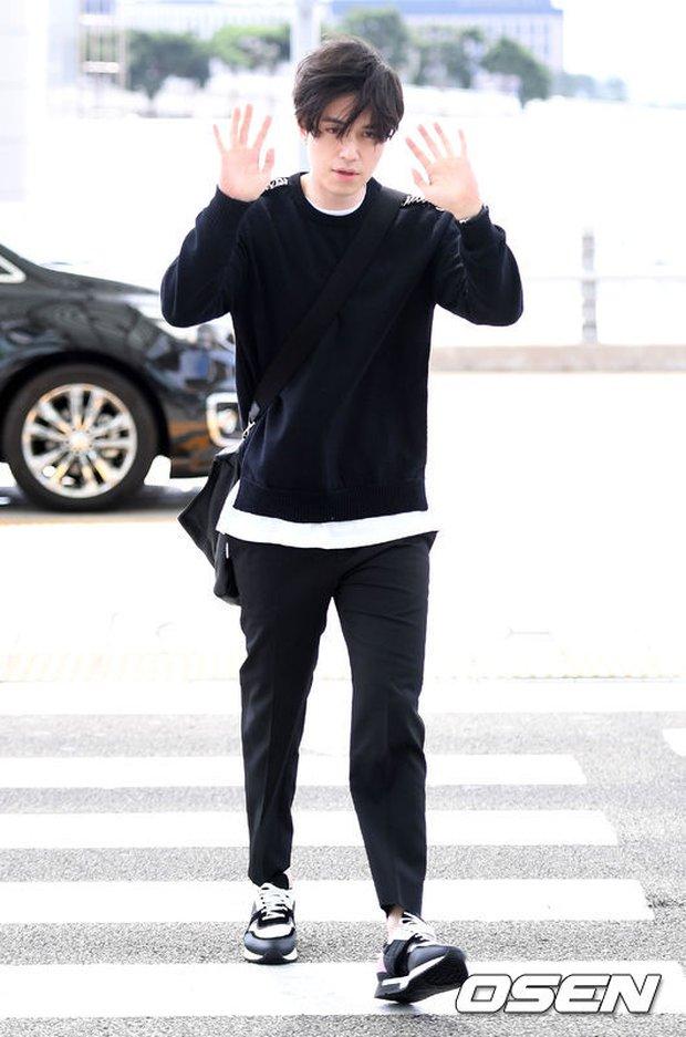 Có ai như Yoona và Lee Dong Wook, đi sân bay thôi cũng lung linh chẳng kém chụp hình tạp chí - Ảnh 12.