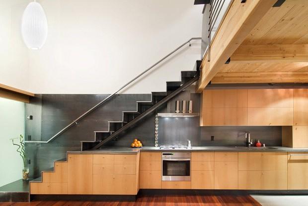 15 ý tưởng nội thất tận dụng gầm cầu thang vừa hiệu quả, vừa đẹp - Ảnh 19.