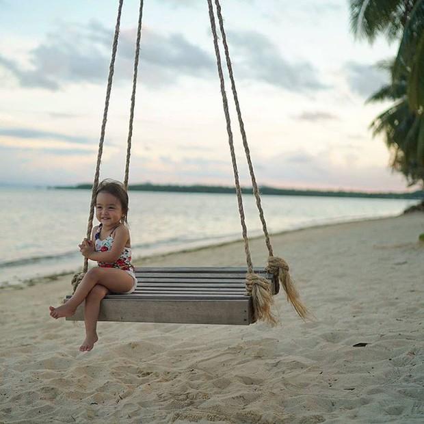 Chiêm ngưỡng vẻ đáng yêu của con gái mỹ nhân đẹp nhất Philippines - Ảnh 11.