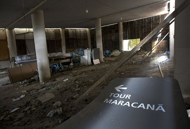 Mới chỉ hơn 6 tháng thôi mà các công trình Olympic Rio đã tan hoang như thế này - Ảnh 12.