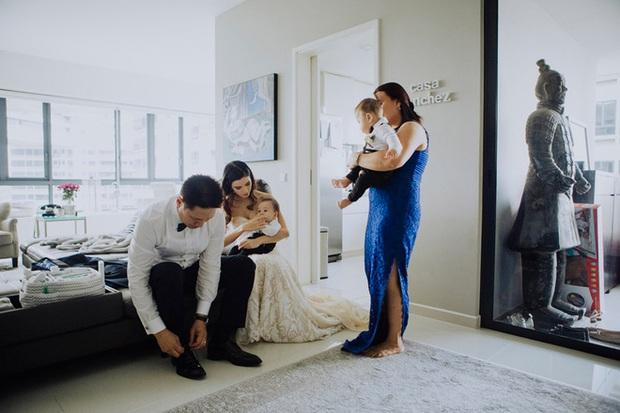 Mẹ bỉm sữa xinh đẹp nổi như cồn đã từng tổ chức cưới lần 2 như thế này đấy! - Ảnh 12.