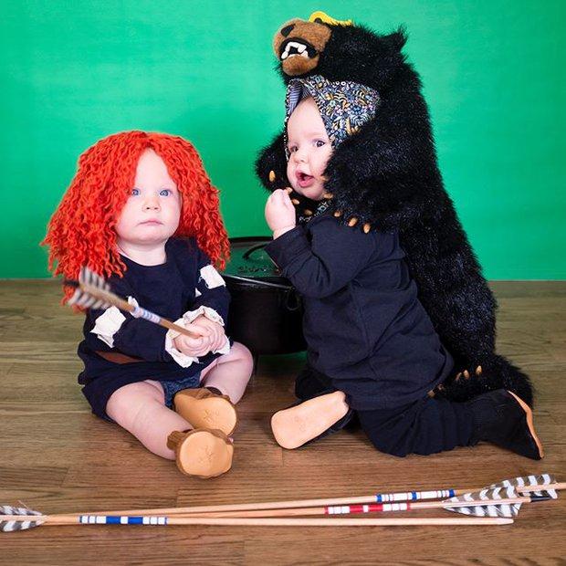 Đã tìm ra cặp song sinh chất chơi nhất mùa Halloween năm nay, mỗi ngày diện một bộ đồ siêu yêu - Ảnh 12.