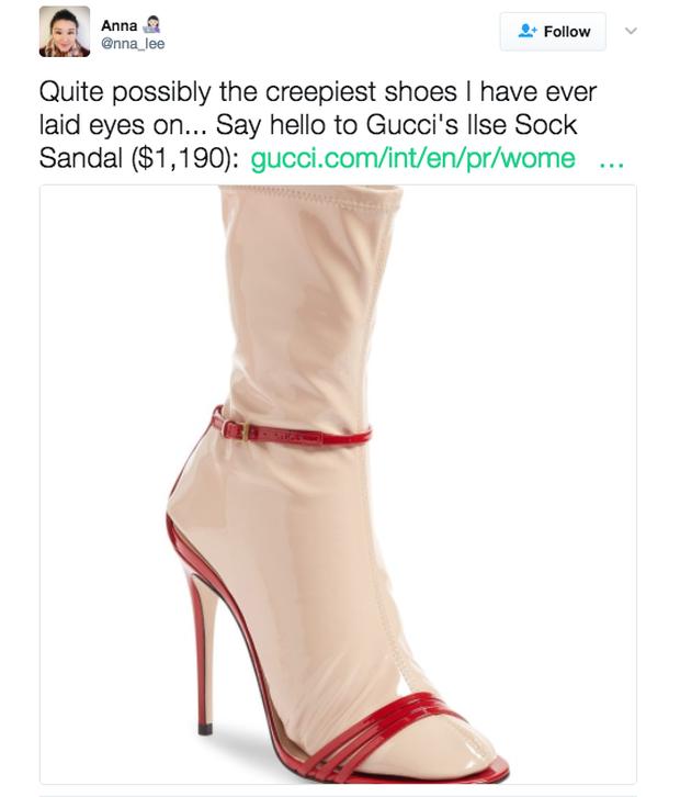 Đến Gucci cũng nhập cuộc xu hướng giày dép độc với đôi sandals kèm tất nhựa khiến dân tình hốt hoảng - Ảnh 13.