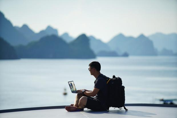 Chiêm ngưỡng những bức ảnh cực đẹp của giới trẻ với chiếc laptop mới ra mắt - Ảnh 13.