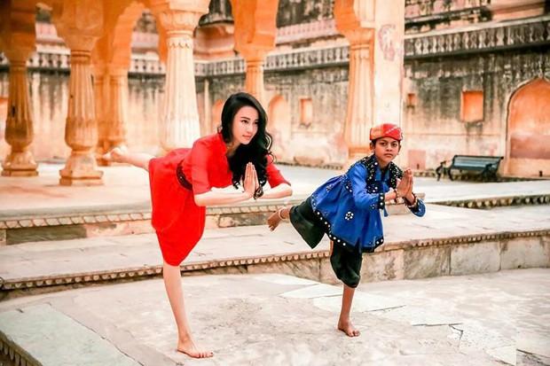 Vẻ đẹp tựa thiên thần của cô giáo yoga đẹp nhất châu Á - Ảnh 14.