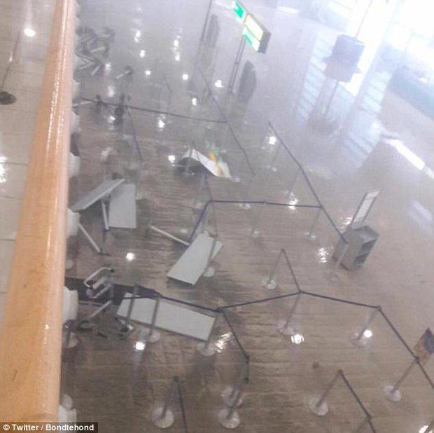 Sân bay quốc tế nổi tiếng thế giới tan hoang không nhận ra sau siêu bão Irma - Ảnh 5.