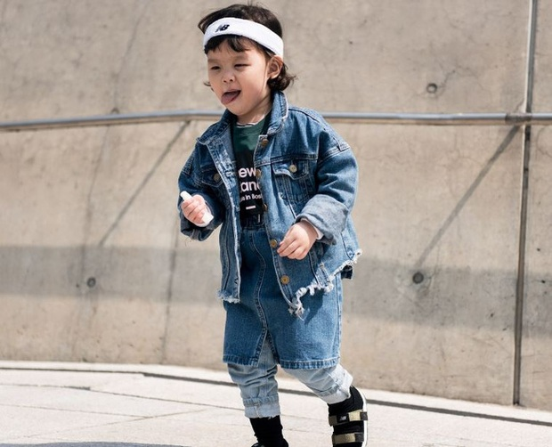 Cứ mỗi mùa Seoul Fashion Week đến, dân tình lại chỉ ngóng xem street style vừa cool vừa yêu của những fashionista nhí này - Ảnh 3.